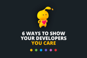 Developer retention infographic cover image